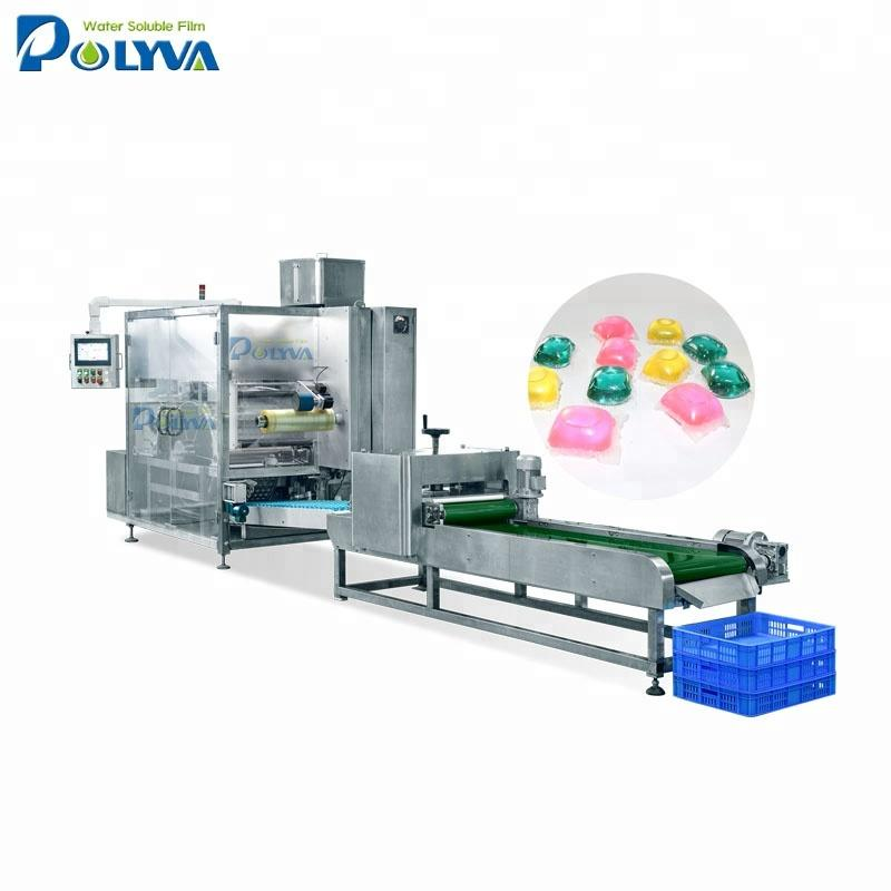 China OEM laundry detergent pods packaging machine