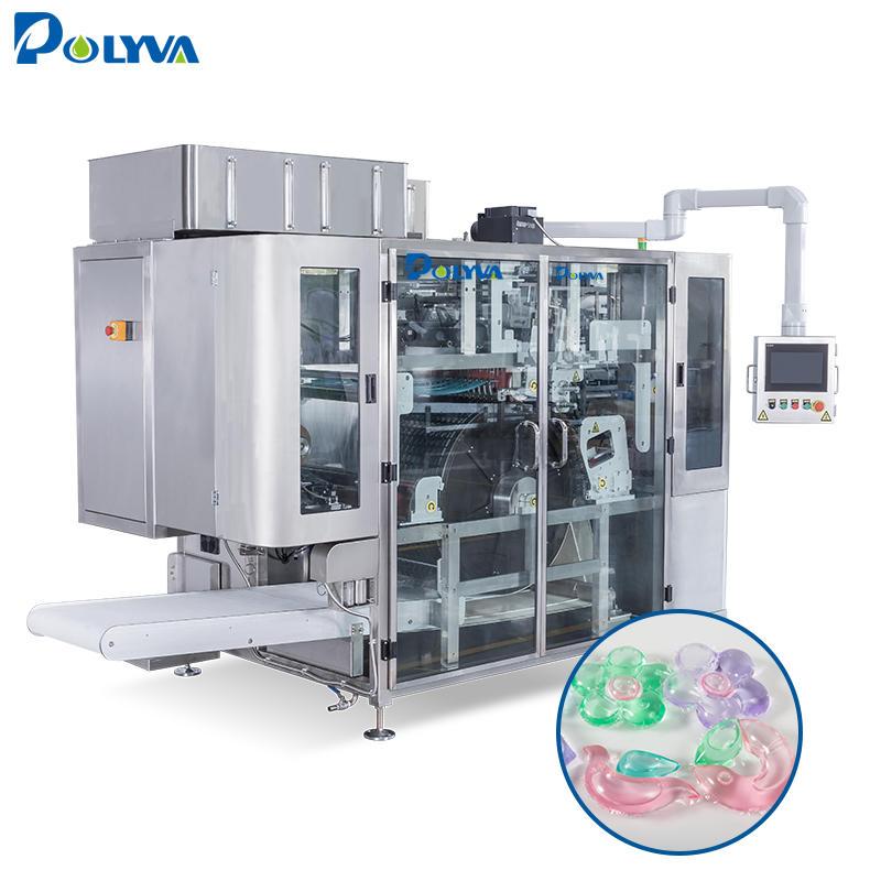 Polyva machine manufacturing automatic pesticide detergent liquid soap pods powder detergent making machine