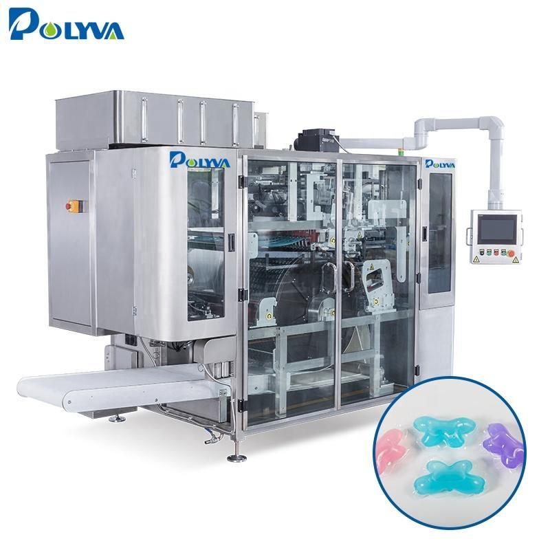 Polyva laundry pod filling machinelaundry detergent washing powder packing machine