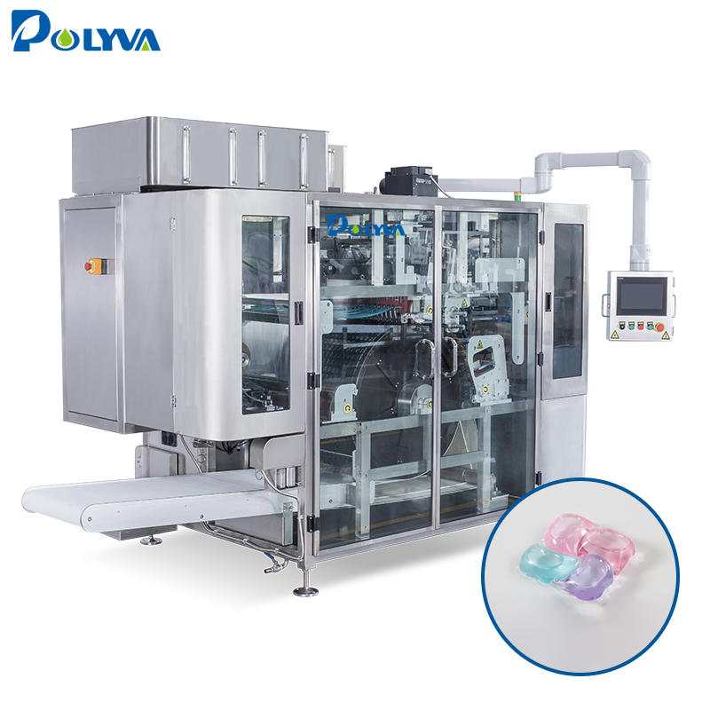 Polyva large output high capacity laundry detergent pods filling packaging machine
