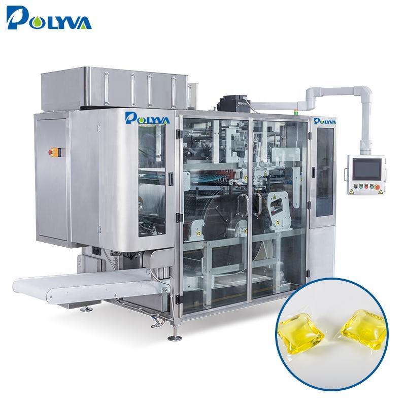 Polyva High SpeedLaundry Pods Liquid filling Machine Water Soluble Packaging Machine