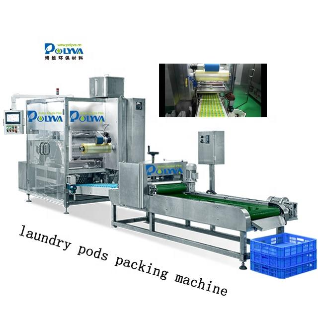 high speed automatic independently developed laundry pods packaging machine