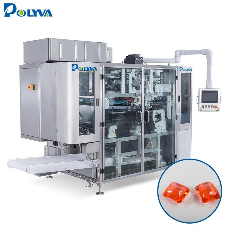POLYVA Factory Price automatic Laundry Detergent Pods Filling Packaging Machine Water soluble Capsules filling Machine