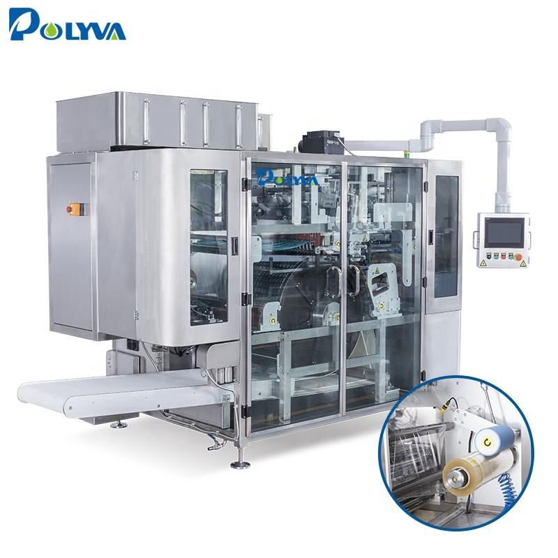 long service life automatic independently developed laundry pods packaging machine