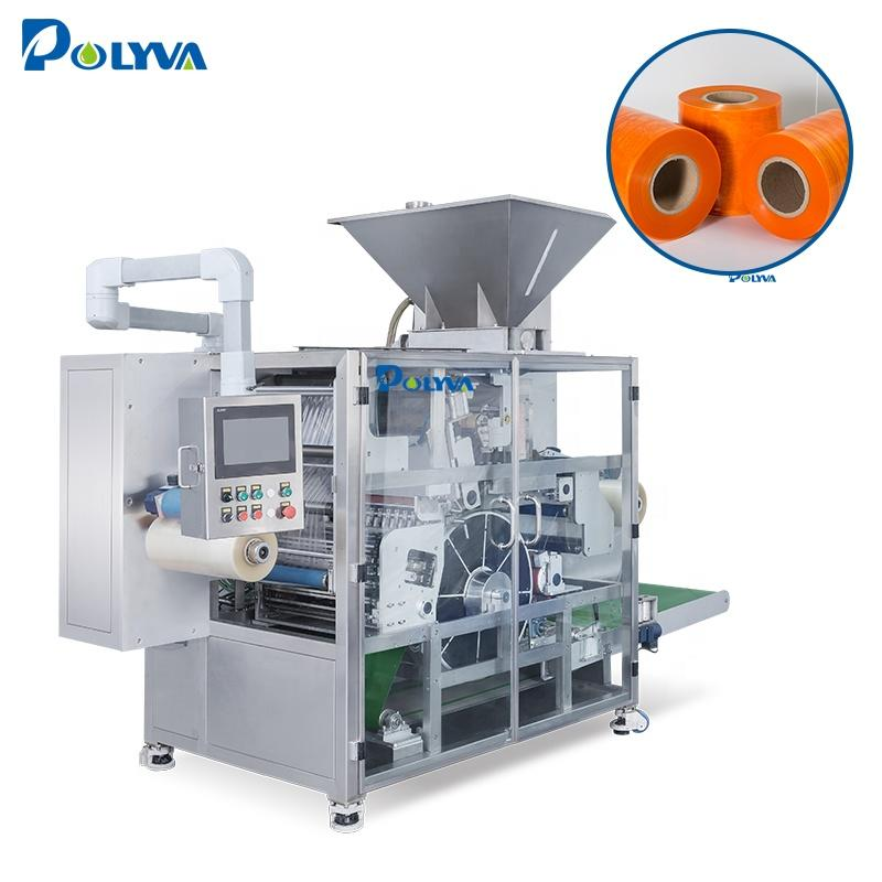dishwasher tablets laundry detergent pods washing capsules water soluble film packaging machine