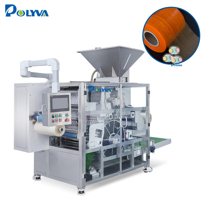 Automatic high capacity laundry detergent pods packing machine 600pcs per minute rotary drum type