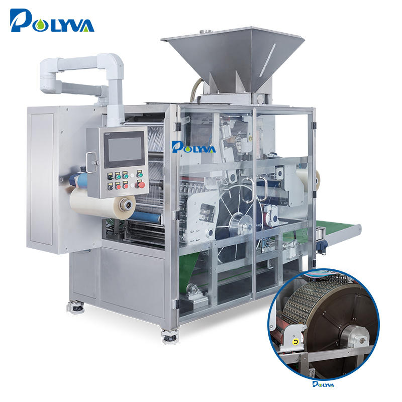 Liquid Laundry Detergent Pods Automatic Packing Machine (PVA Film/Water-Soluble Film)