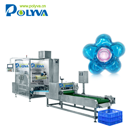 Polyva washing capsule packaging machine high speed laundry detergent pods filling packaging machine