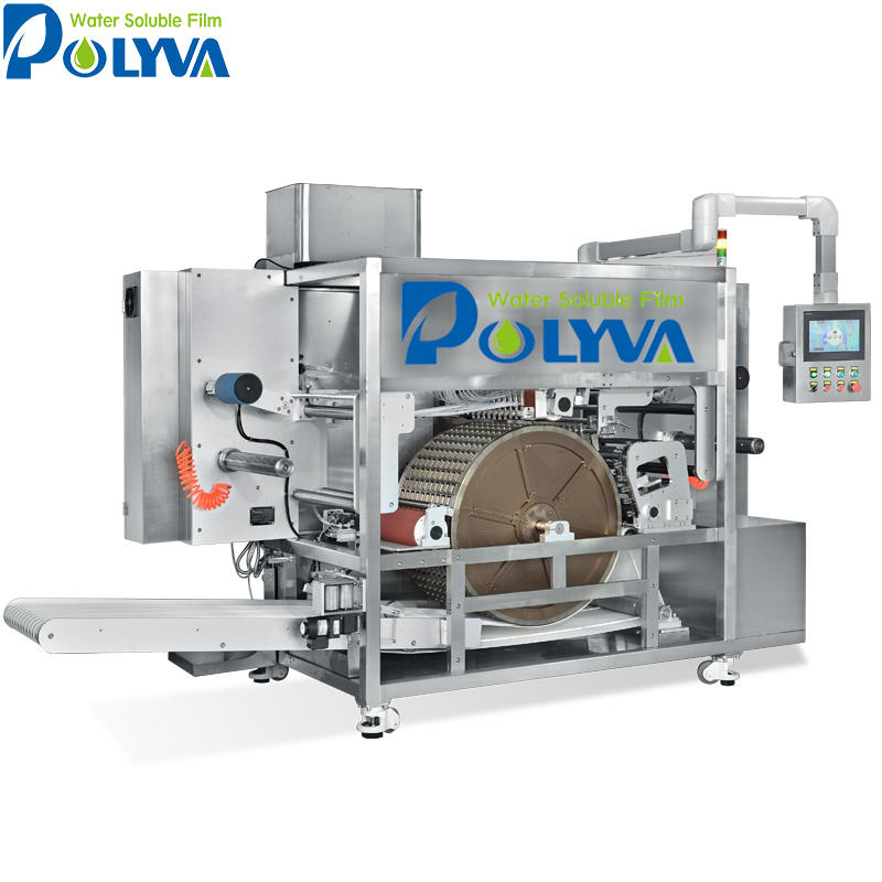 POLYVA automatic liquid packaging machine washing laundry detergent pods packing machine liquid capsules/pods filling machine