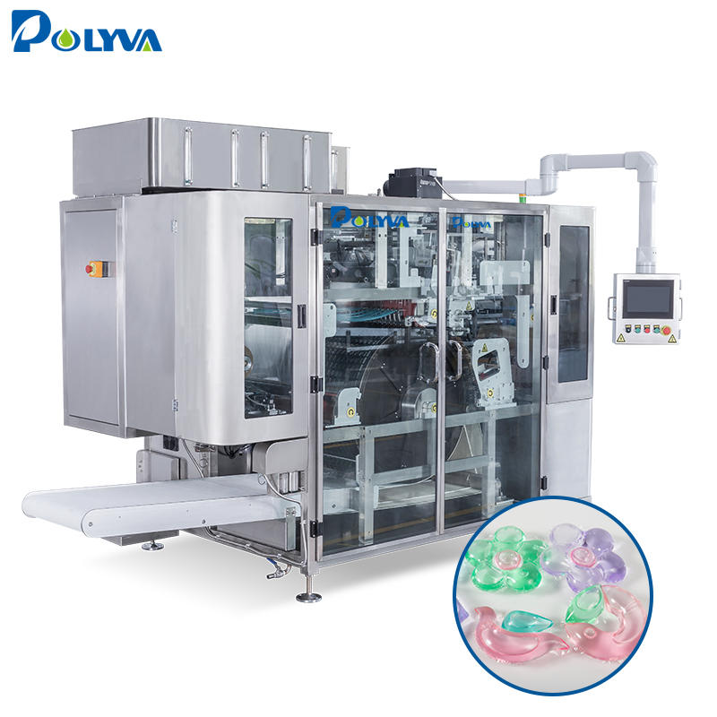 CHINA manufacture laundry pods packaging laundry detergent capsules packaging machine