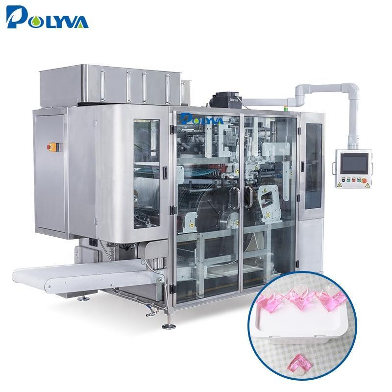 Polyva machine high capacity liquid detergent pod filling machine pods detergent powder packing machine