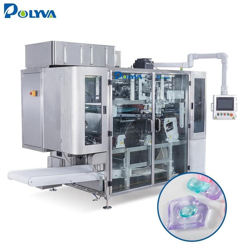 laundry pod making pva film packing machine detergent making machine/Laundry detergent capsule making machine