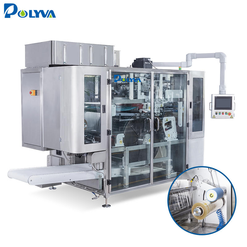 tight sealing automatic independently developed laundry pods packaging machine