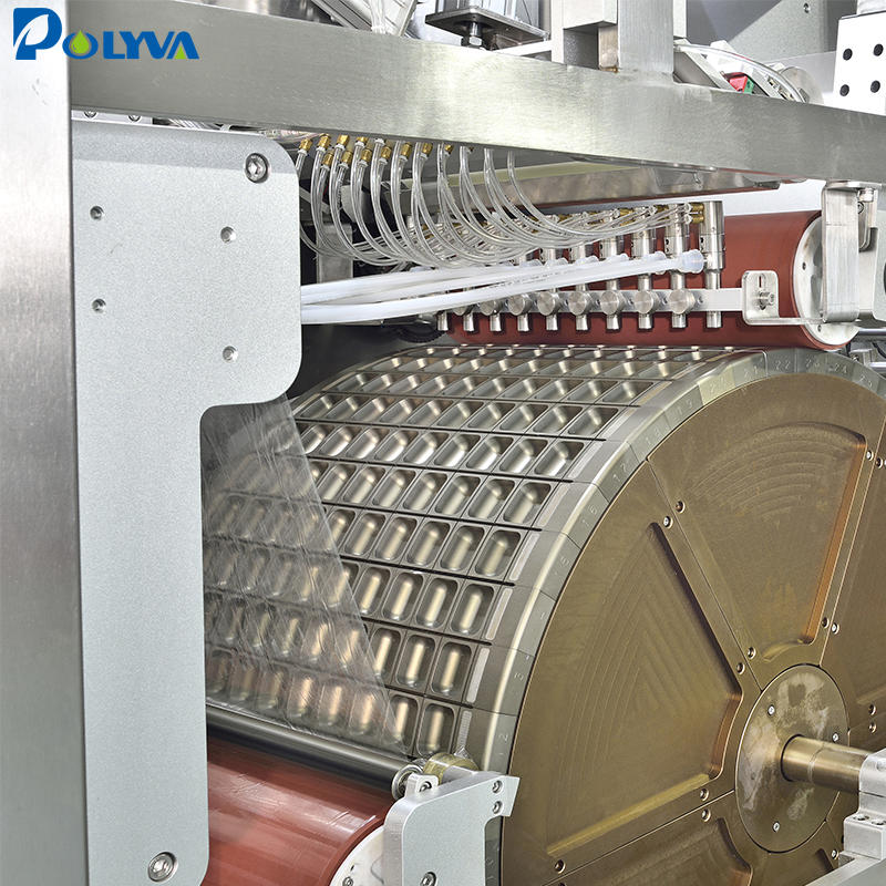 Polyva water soluble film packaging filling machine high speed laundry pods packaging machine