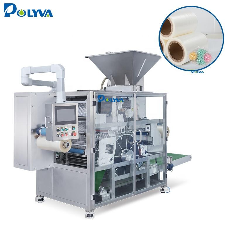 high speed liquid laundry detergent pods thermoforming packaging machine