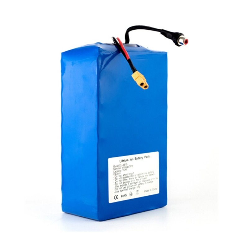 Powerful optional Can used circularly battery lithium ion 48v 16ah