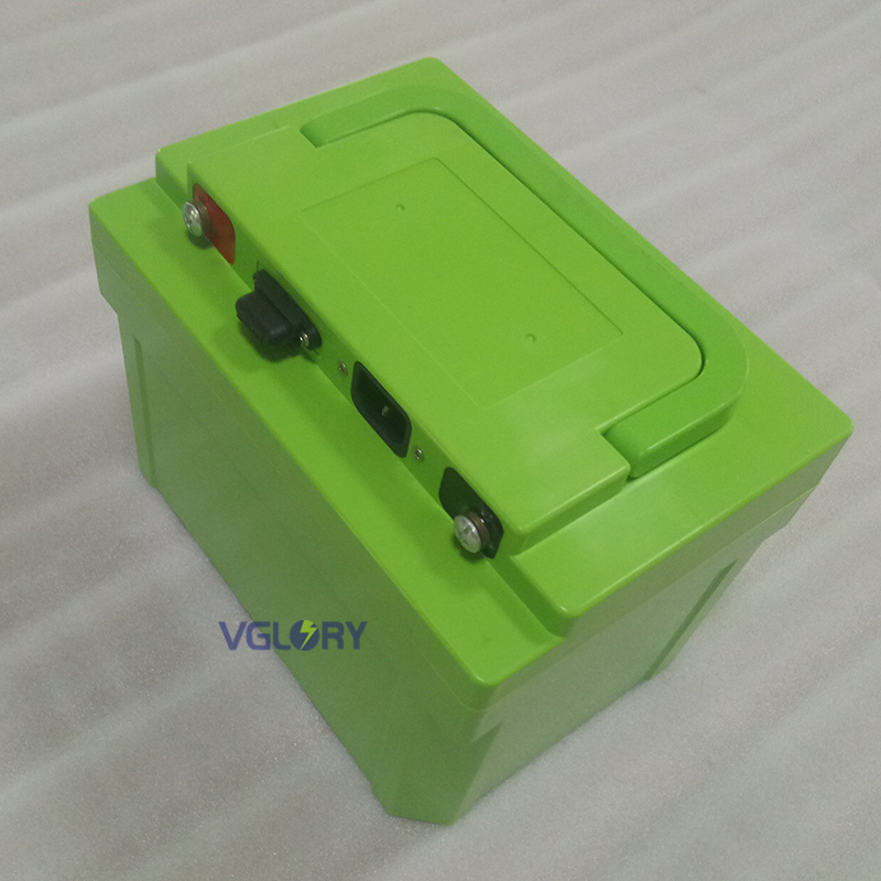 Excellent temperature performance 48v lithium ion battery with charger 12ah