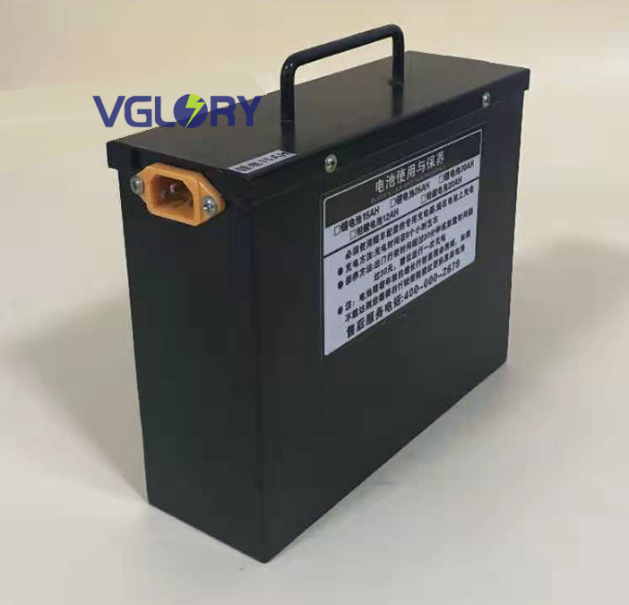 Powerful optional Long cycle life battery pack 48v 16ah