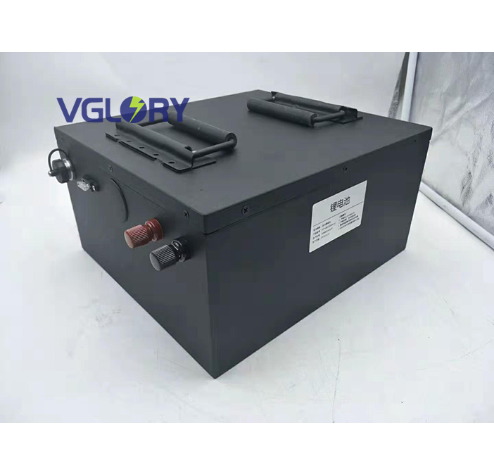 With intelligent Balancing protection electric scooter battery 48v 50ah lithium ion battery