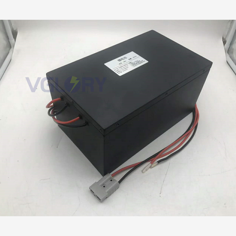 With short circuit protection 48v 55ah lithium battery 50ah