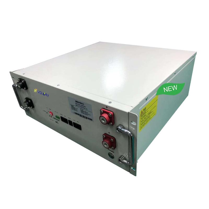 Custom shape accept lithium battery for solar system 48v 110ah