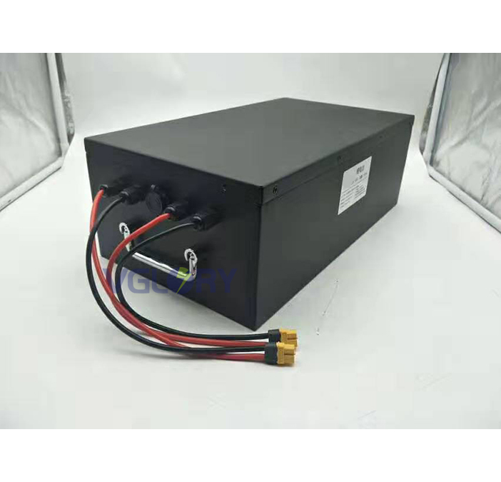Intelligent charge system 48v 12ah lithium battery