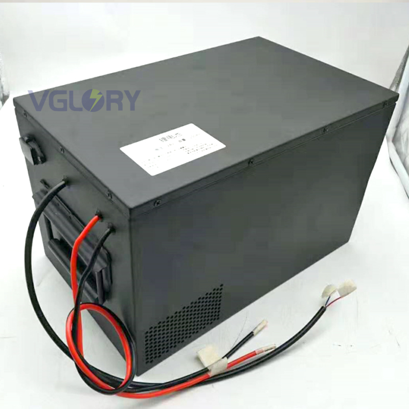 Well run under extreme temperature 48 volt lithium battery pack 50ah