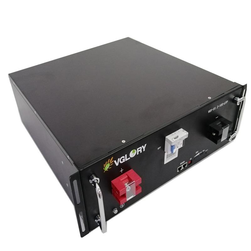 Powerful optional Anti overload solar lithium battery 48v