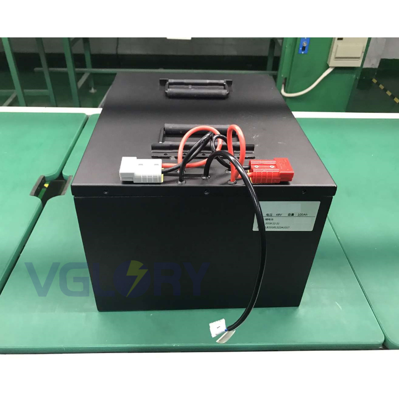 Protect against short circuit 48v lithium ion battery 50ah