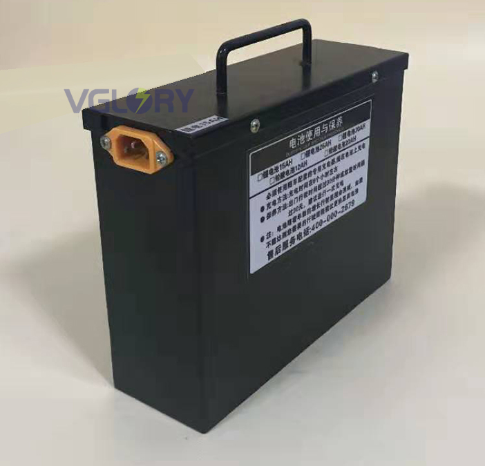 Run well under different environment lithium ion battery pack 48v 12ah