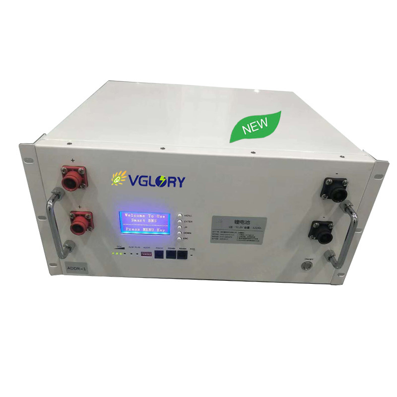 Accept Custom capacity lithium storage battery 48v 110ah