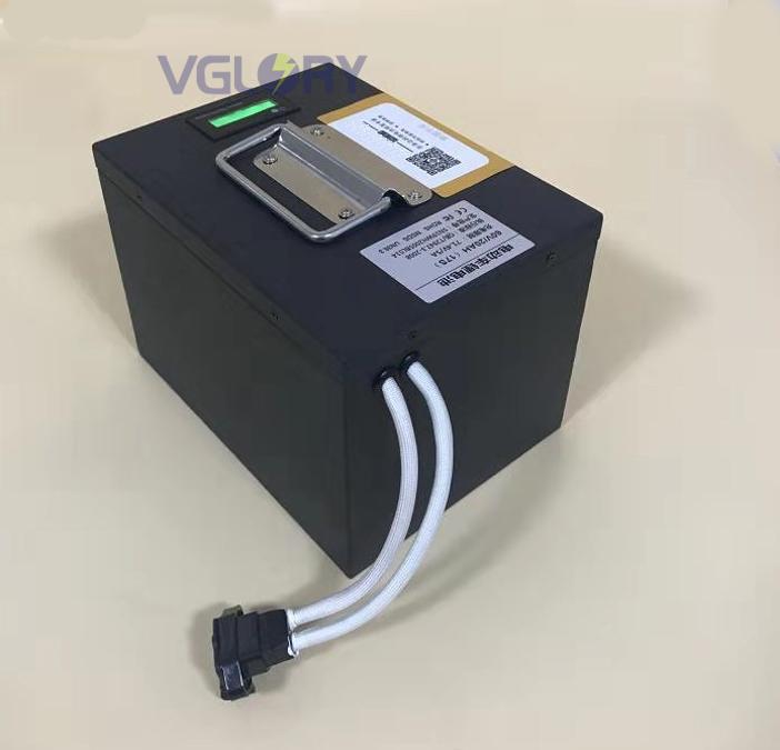 Intelligent charge system li Ion Bike Battery 12ah