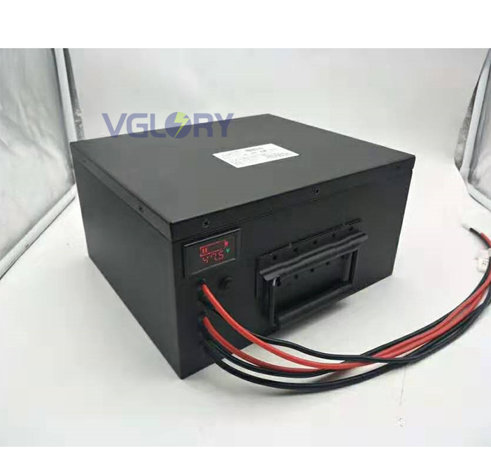 High efficiency charge characteristic 48v lithium ion battery pack 12ah