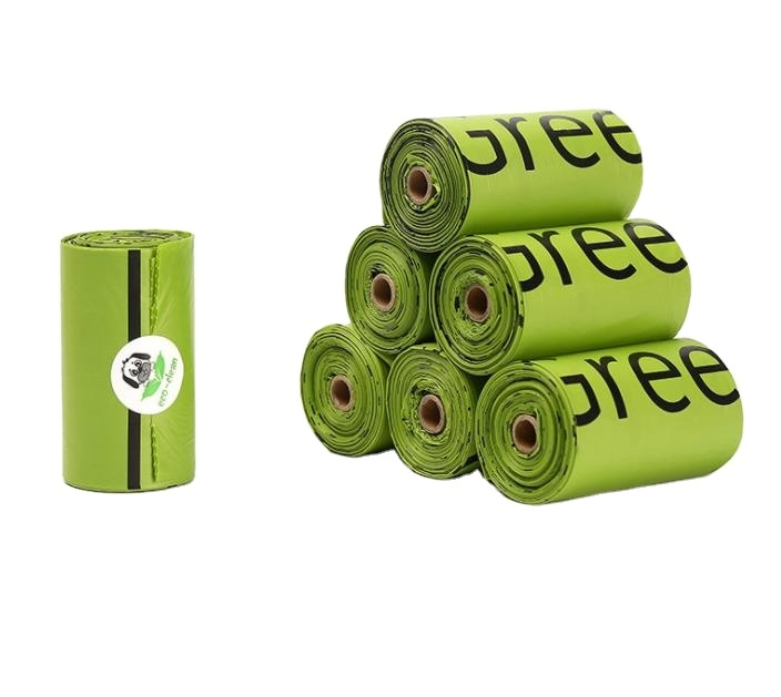 Eco friendly Biodegradable Pet Poop Bags by PLA material