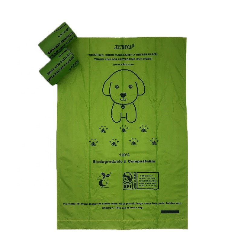 Compostable Dog Poop Bags 100% Biodegradable Dog Waste Bags with Dispenser