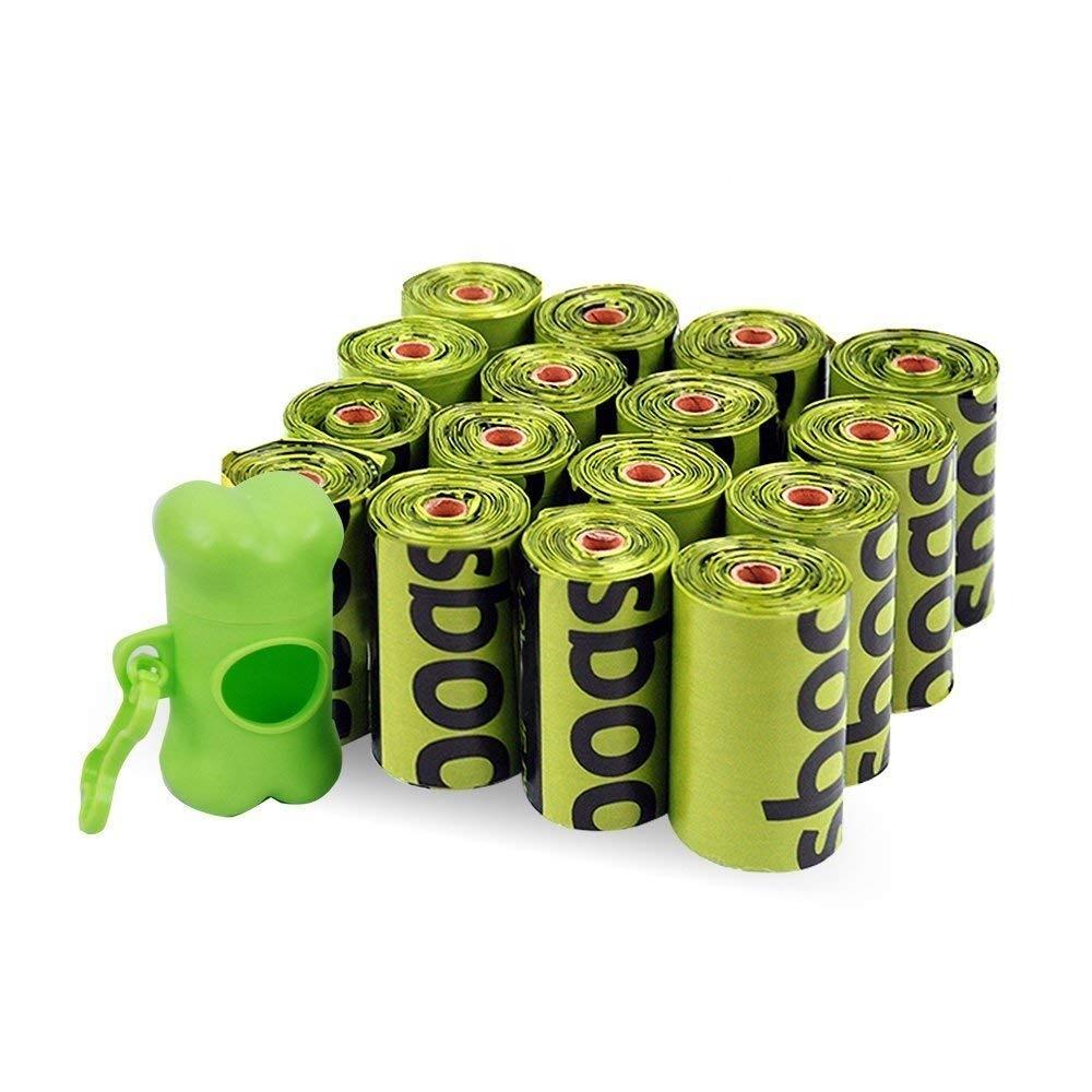 XCBIO pla 100% biodegradable dog poop bag compostable corn starch poop bag