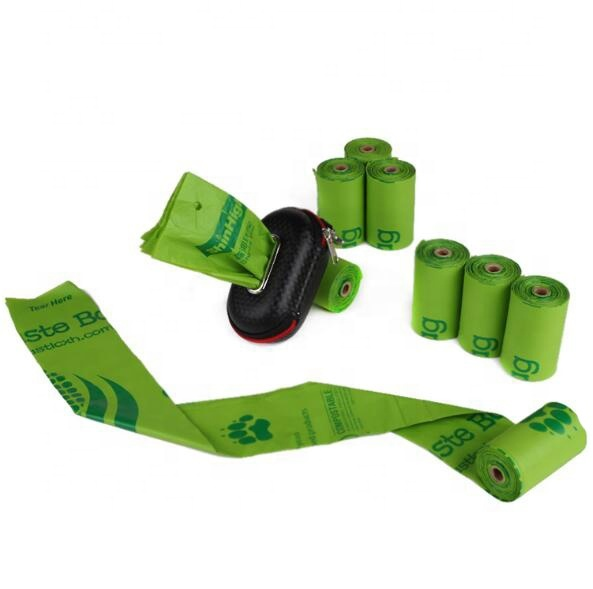 compostableeco friendly recycled waste bags dog