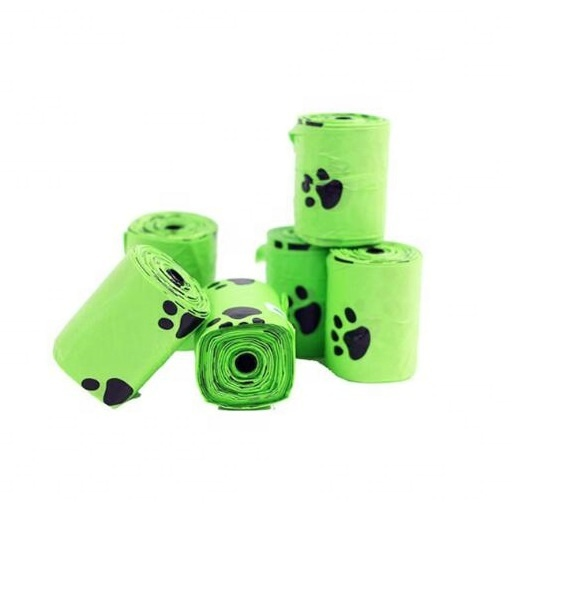 100% eco friendly dog poop bags biodegradable dog waste bag compostable with custom services