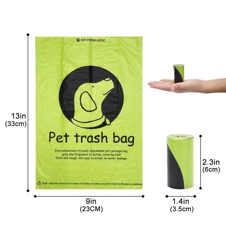 Eco Friendly Dog Waste Poop Bag 100% Biodegradable Compostable Poop Bag