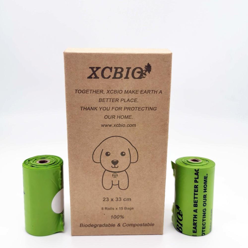 En13432 certified Corn starch 100% biodegradable compostable dog poop bags dog waste bag