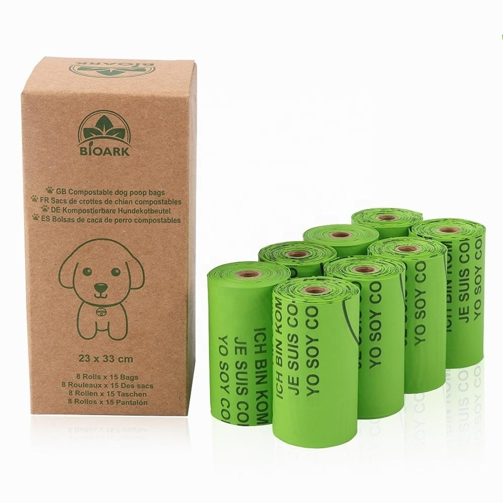 Extra Thick Strong 100% Leak Proof Biodegradable Dog Waste Bags biodegradable and compostable poop bag
