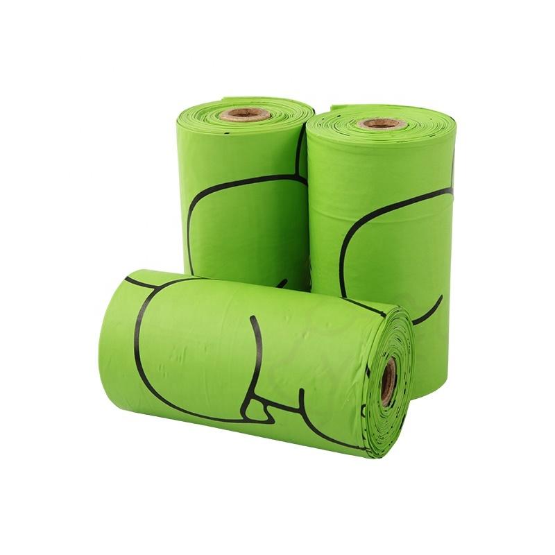 Compostable 100% Biodegradable Pet Dog Waste Poop Plastic Garbage Bag