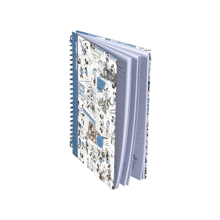 Wholesale Diary Notebook Binding Cover A4 Size Spiral Notebook with Pattern