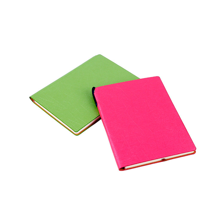 Hardcover Hard Cover Japanese School Notebook / Thin Leather Notebook