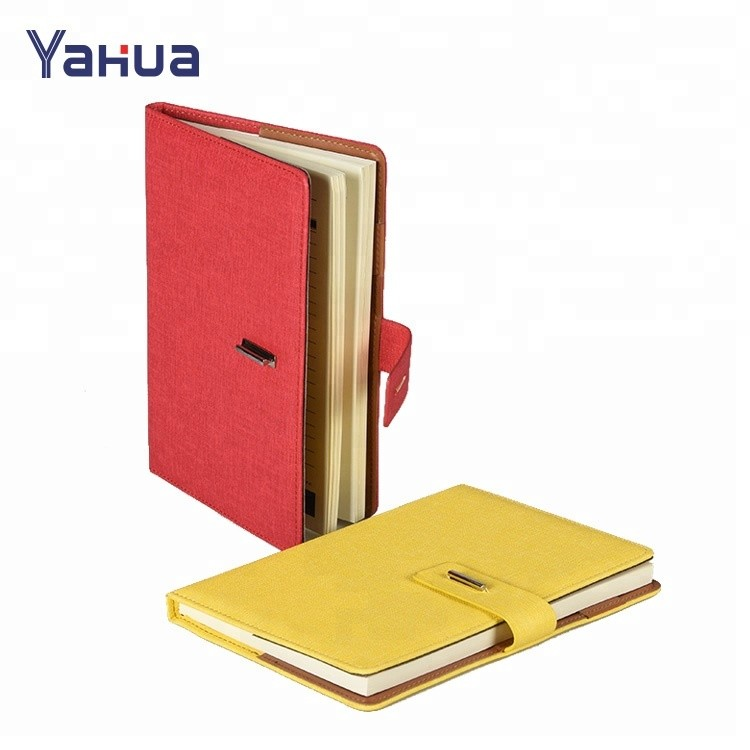 Wholesale Business Office Diary Note Book Pu Leather Notebooks with Debossed Logo
