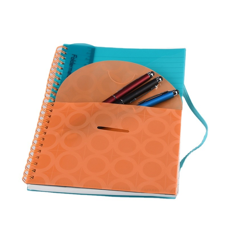Printing Journals A4 Custom Notebook Printing Spiral Notebook with Dividers for Office