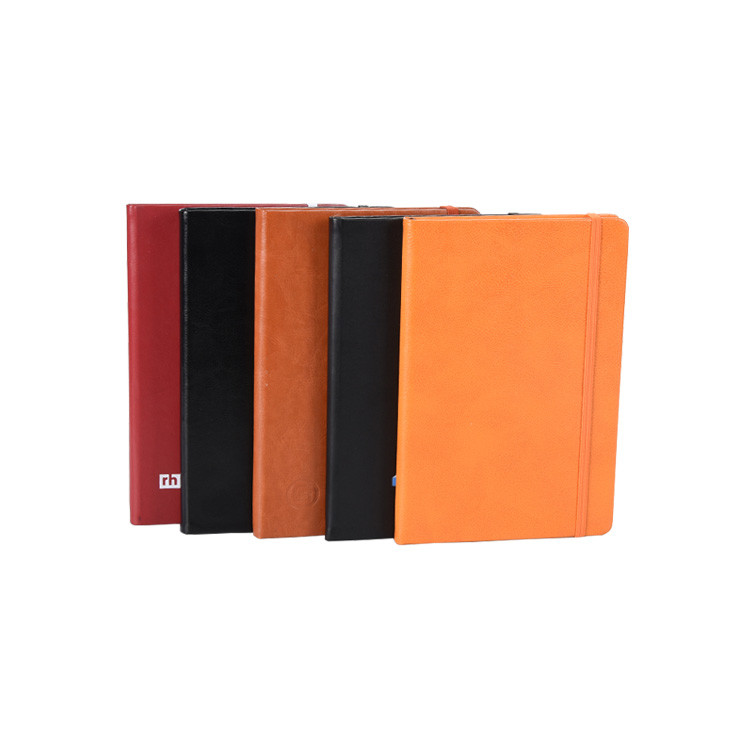 Pretty Office And School Stationery Custom A6 Pu Leather Business Notebook for Promotional Gift