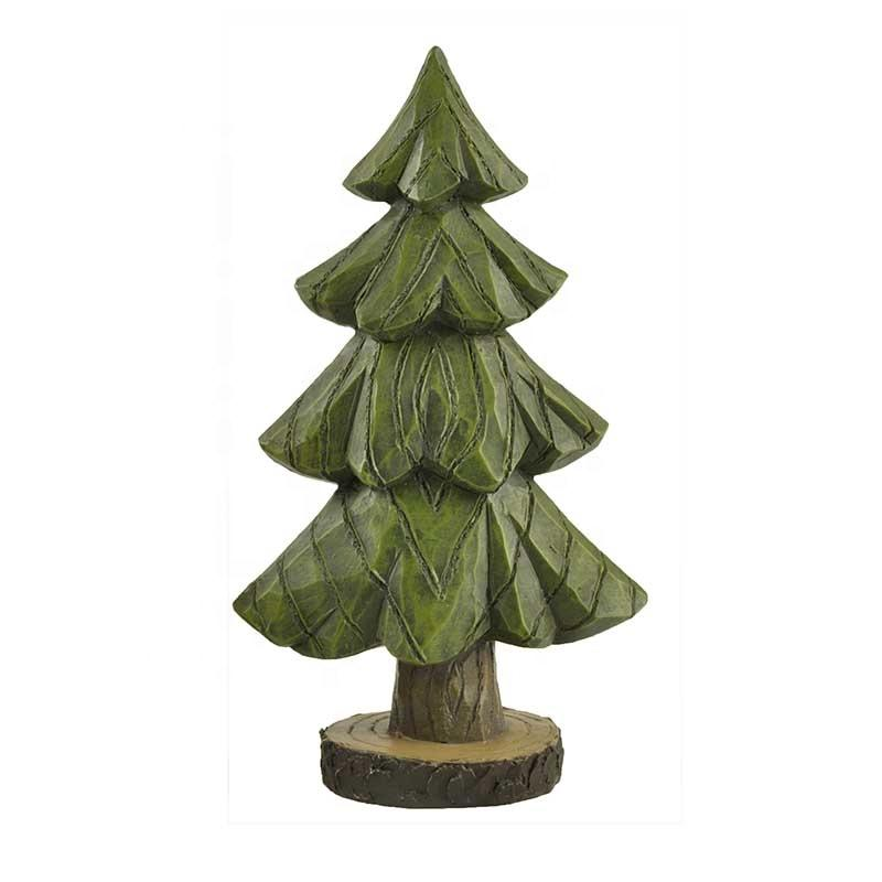 Festival Decorations Tree Christmas Tree Sculpture Resin Gifts & Crafts Garden Sculpture