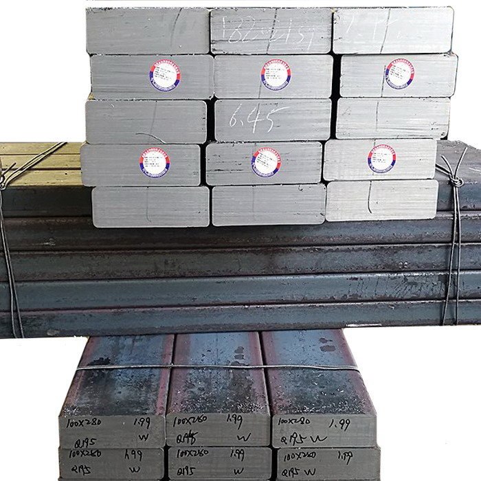 Q195 electrode flat steel for Electrolytic aluminium factory using