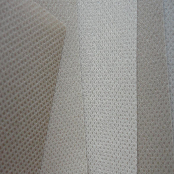 Perforated nonwoven for furniture industries